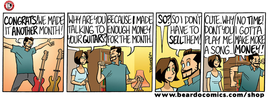 Beardo Comic Strip for March 26, 2020