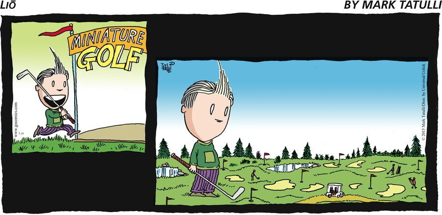 Lio Comic Strip for July 19, 2015
