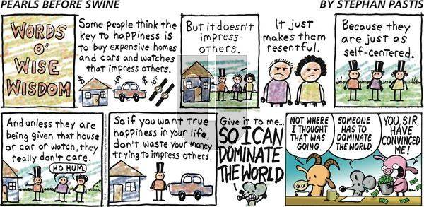 Pearls Before Swine on Sunday October 14, 2018 Comic Strip