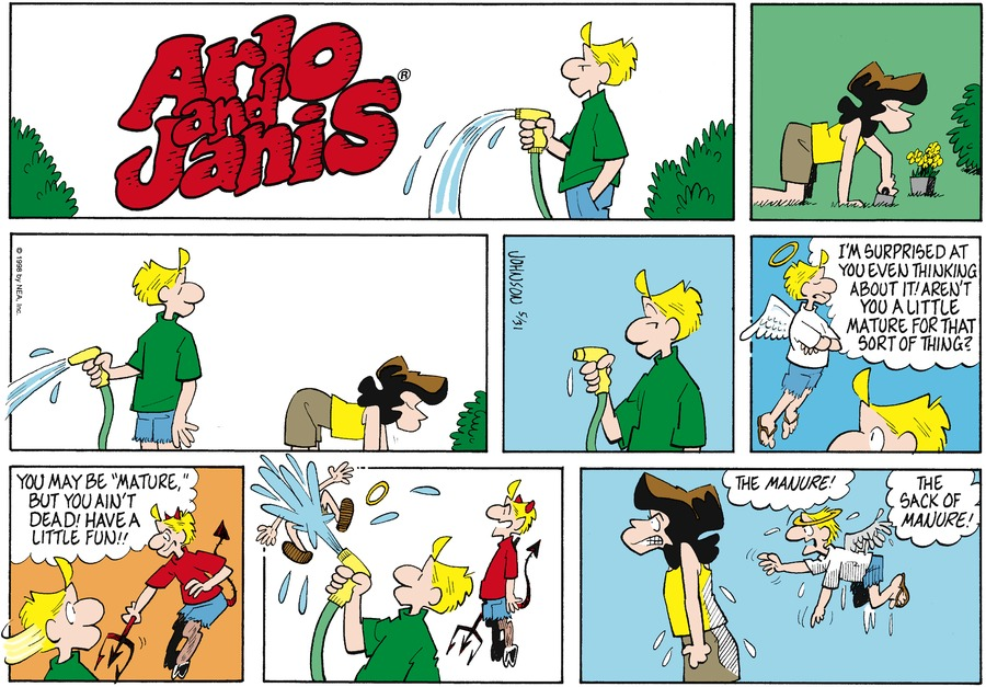 Arlo and Janis Comic Strip for May 31, 1998