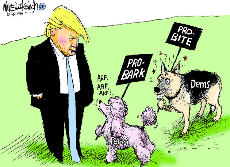 Mike Luckovich Comic Strip for July 11, 2019
