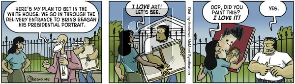 Alley Oop - Wednesday February 6, 2019 Comic Strip
