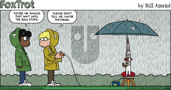 FoxTrot - Sunday April 29, 2018 Comic Strip