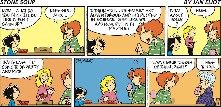 Stone Soup Comic Strip for May 24, 2020