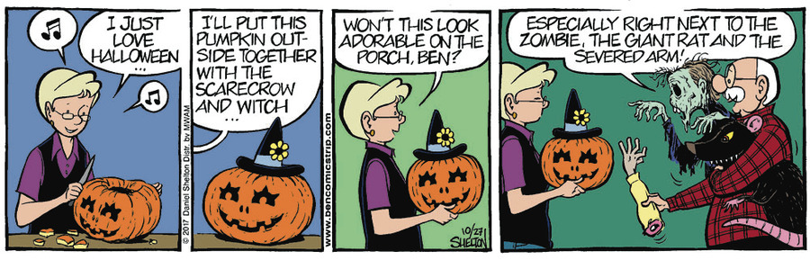 Ben Comic Strip for November 01, 2017