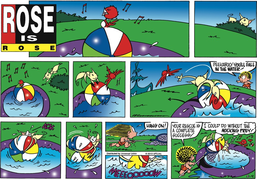 Rose is Rose for Aug 4, 2013 Comic Strip