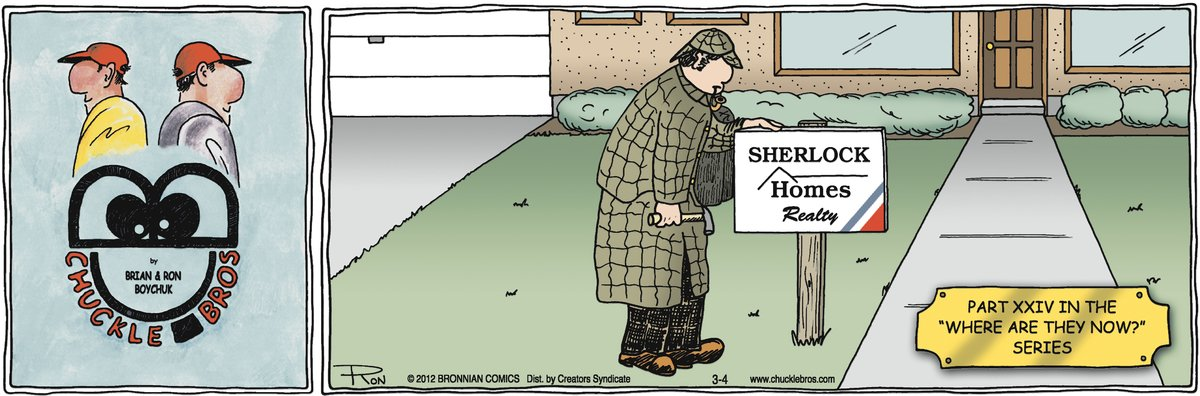 Chuckle Bros Comic Strip for March 04, 2012