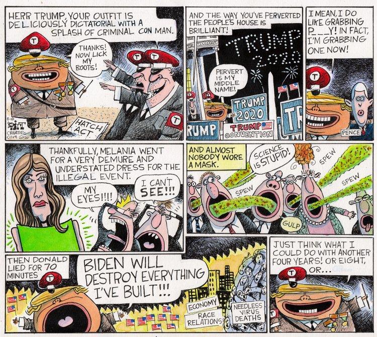 Chris Britt Comic Strip for August 30, 2020
