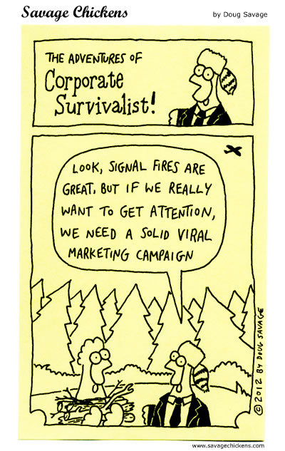 Savage Chickens Comic Strip for February 04, 2016
