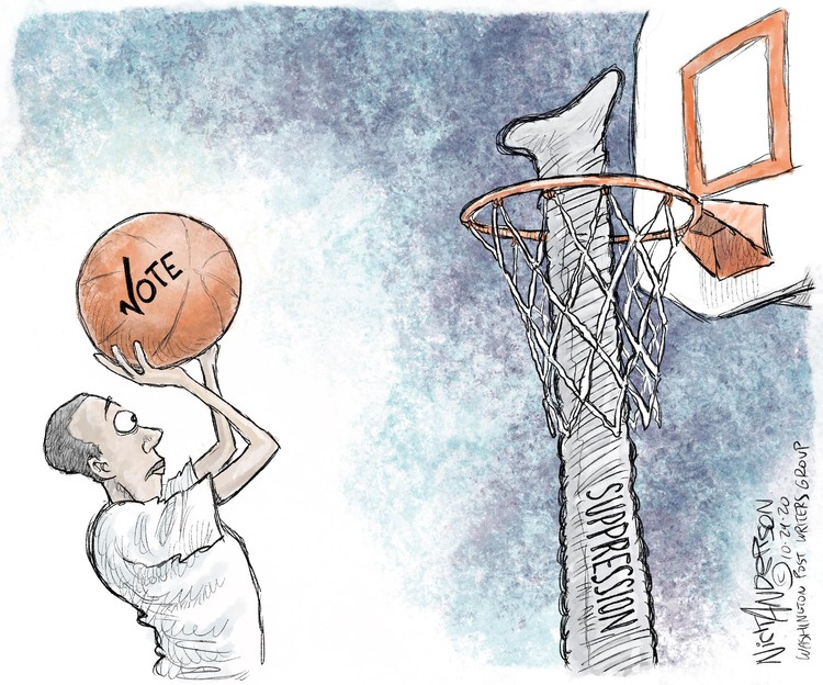 Nick Anderson Comic Strip for October 30, 2020