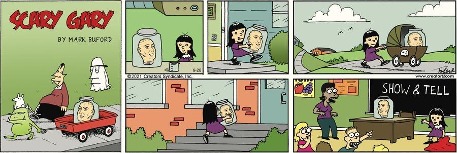 Scary Gary Comic Strip for September 26, 2021