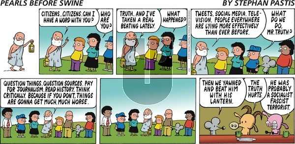 Pearls Before Swine on Sunday April 14, 2019 Comic Strip