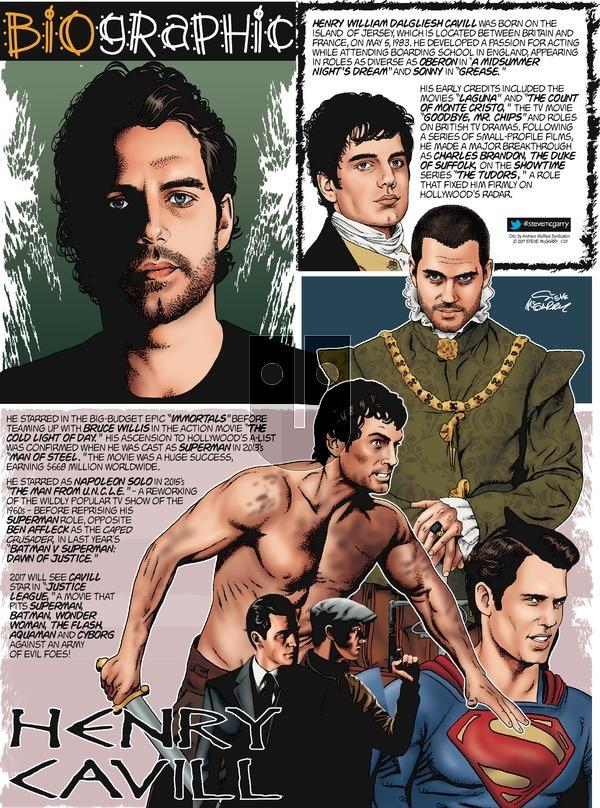 Biographic on Sunday January 29, 2017 Comic Strip