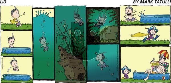 Lio on Sunday July 8, 2007 Comic Strip