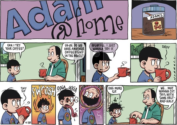 Adam@Home on Sunday April 28, 2019 Comic Strip