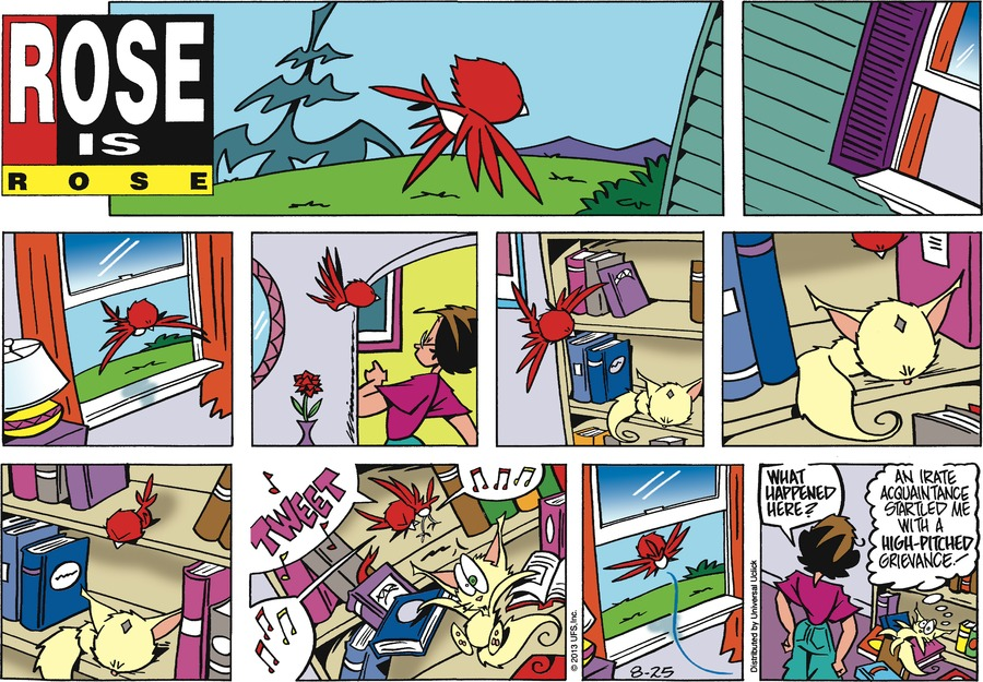 Rose is Rose Comic Strip for August 25, 2013