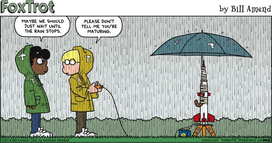 FoxTrot Comic Strip for April 29, 2018