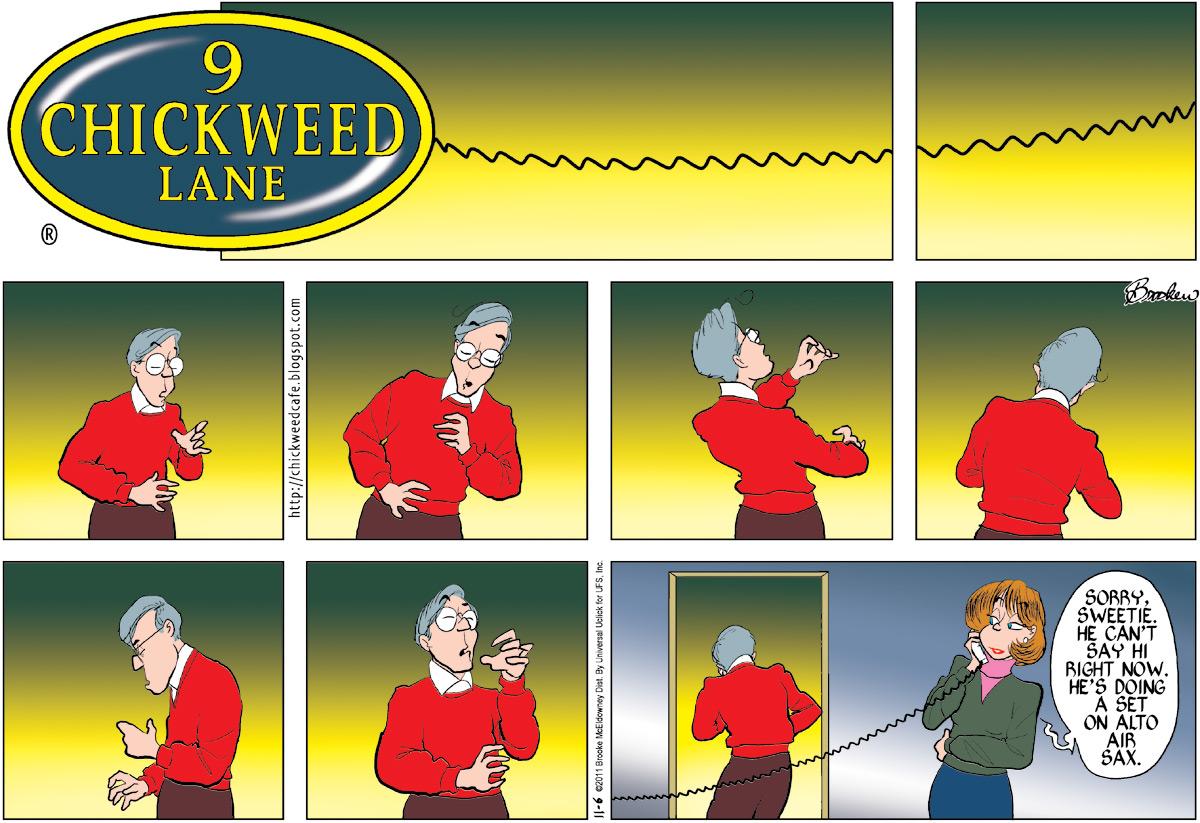 9 Chickweed Lane Comic Strip for November 06, 2011