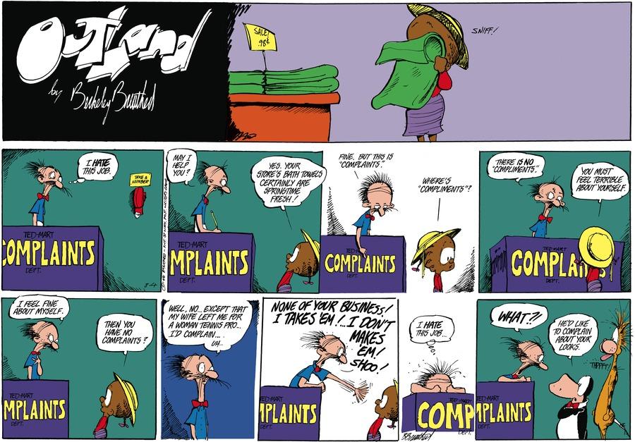 Outland Comic Strip for September 13, 2021