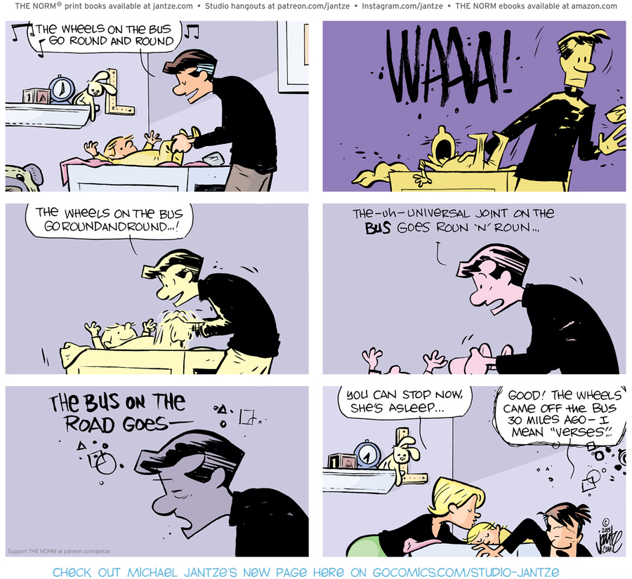 The Norm Classics Comic Strip for March 02, 2021