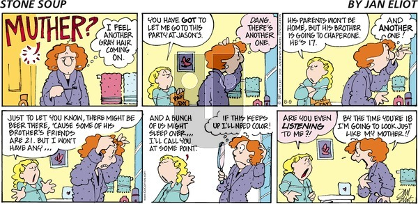 Stone Soup on Sunday August 9, 2020 Comic Strip
