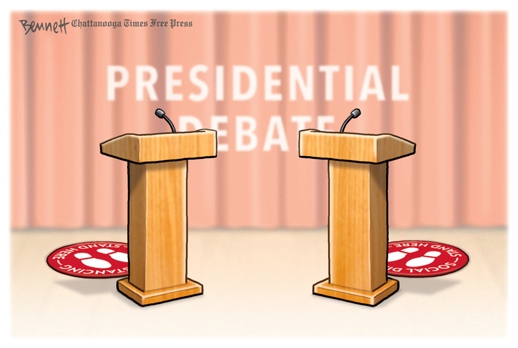 Clay Bennett by Clay Bennett on Wed, 30 Sep 2020