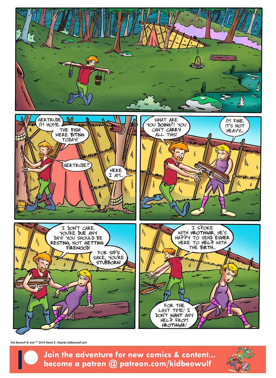 Kid Beowulf by Alexis E. Fajardo for September 16, 2019