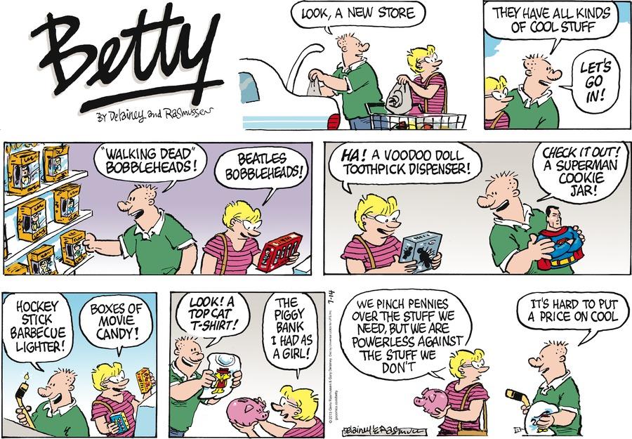 Betty for Jul 14, 2013 Comic Strip