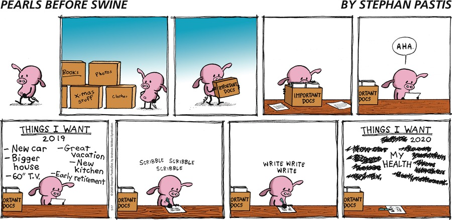 Pearls Before Swine Comic Strip for May 17, 2020