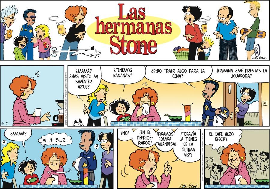 Las Hermanas Stone by Jan Eliot on Sun, 17 Nov 2019