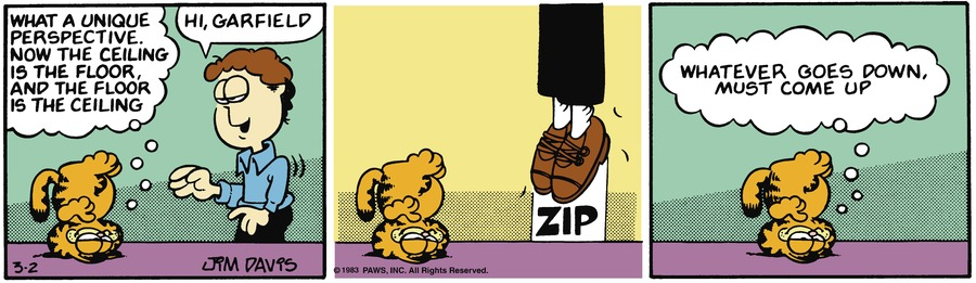 Garfield Classics Comic Strip for March 07, 2021