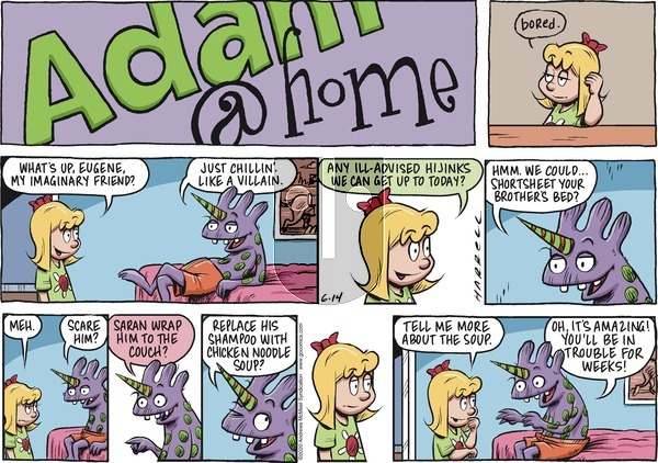 Adam@Home on Sunday June 14, 2020 Comic Strip