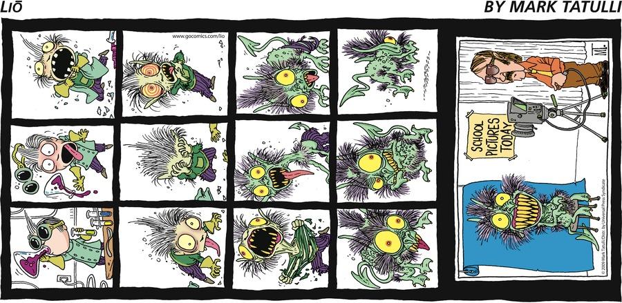 Lio for Nov 15, 2009 Comic Strip