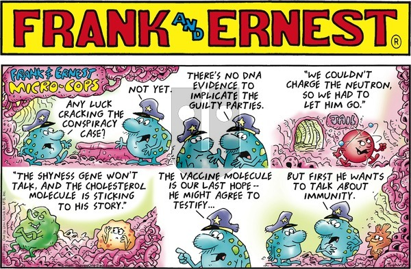 Frank and Ernest on Sunday February 16, 2014 Comic Strip