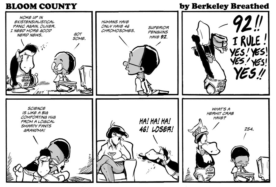 Bloom County 2019 by Berkeley Breathed for September 27, 2019