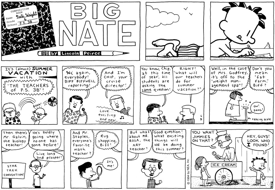 Big Nate: First Class Comic Strip for June 16, 2019