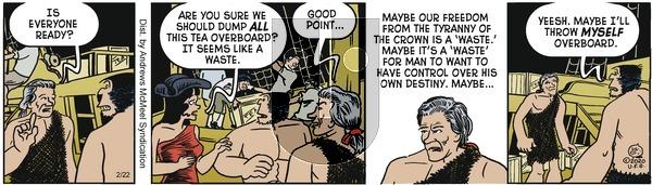 Alley Oop - Saturday February 22, 2020 Comic Strip