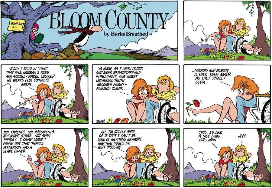 Bloom County by Berkeley Breathed on Thu, 04 Feb 2021