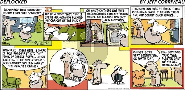 DeFlocked on Sunday August 9, 2015 Comic Strip