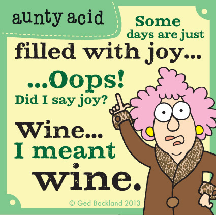 Some days are just filled with joy...oops! Did I say joy?