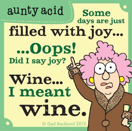 Aunty Acid for Jun 20, 2013 Comic Strip
