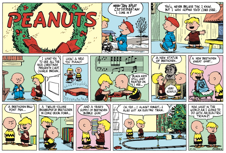 Peanuts Begins Comic Strip for December 04, 2018