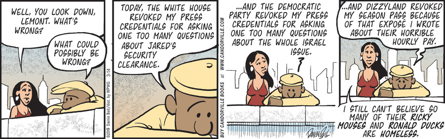 Candorville Comic Strip for March 14, 2019