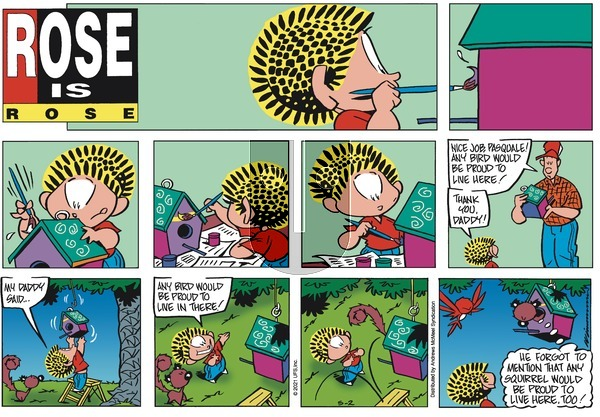 Rose is Rose on Sunday May 2, 2021 Comic Strip