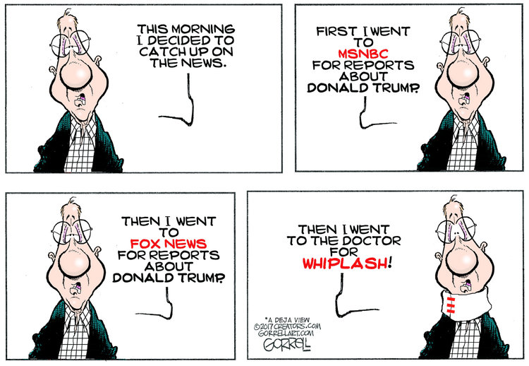 Bob Gorrell Comic Strip for October 10, 2019