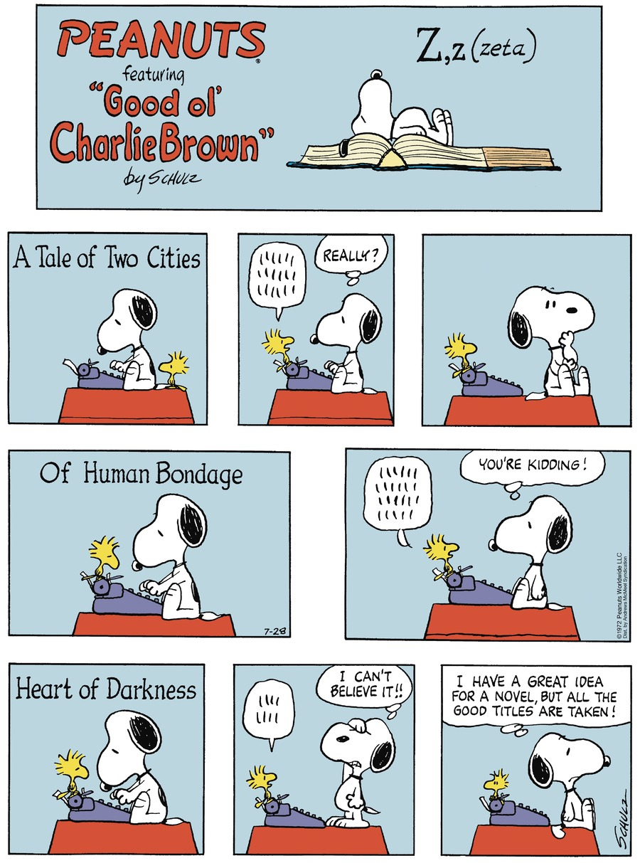 Peanuts by Charles Schulz for July 28, 2019