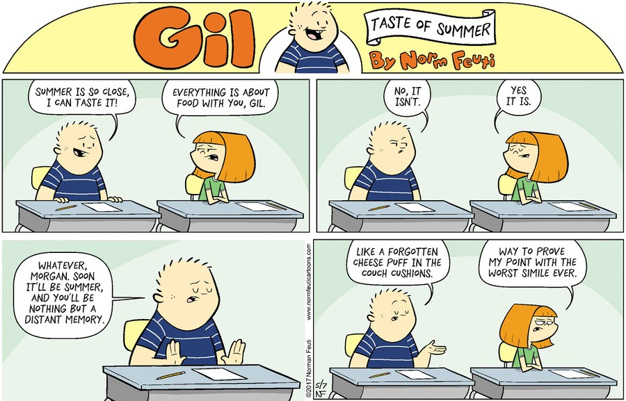 Gil Comic Strip for May 02, 2021