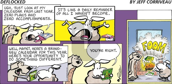 DeFlocked on Sunday January 3, 2021 Comic Strip