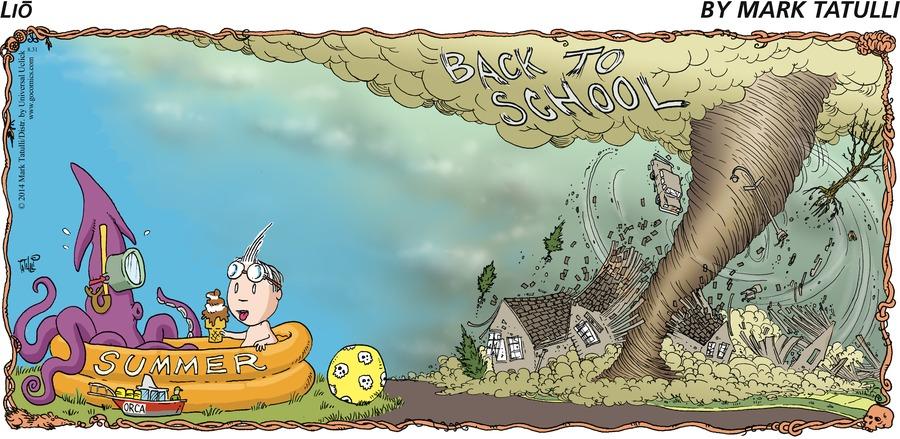Lio for Aug 31, 2014 Comic Strip