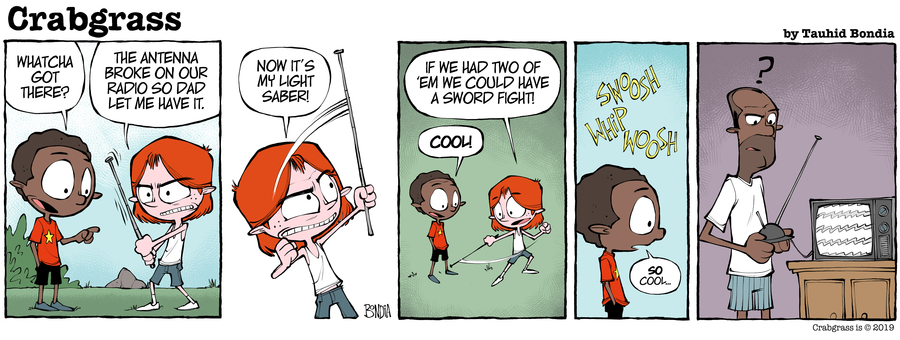 Crabgrass Comic Strip for July 22, 2019